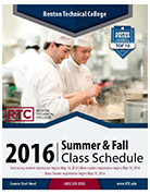Click here for the 2016 Summer/Fall Class Schedule