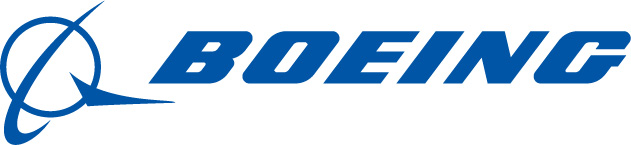 The Boeing logo.