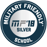 Military Friendly School 2018 Silver Award