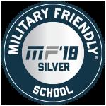 Military Friendly School 2018 Silver Award
