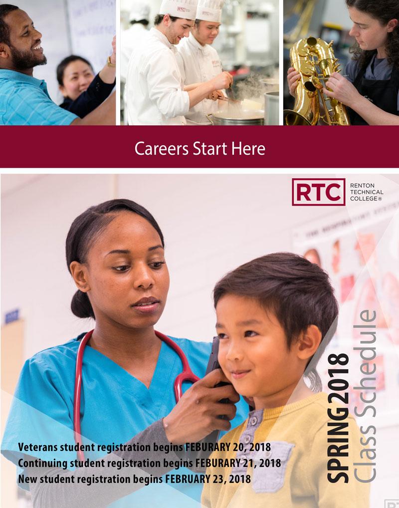 RTC Spring 2018 Class Schedule