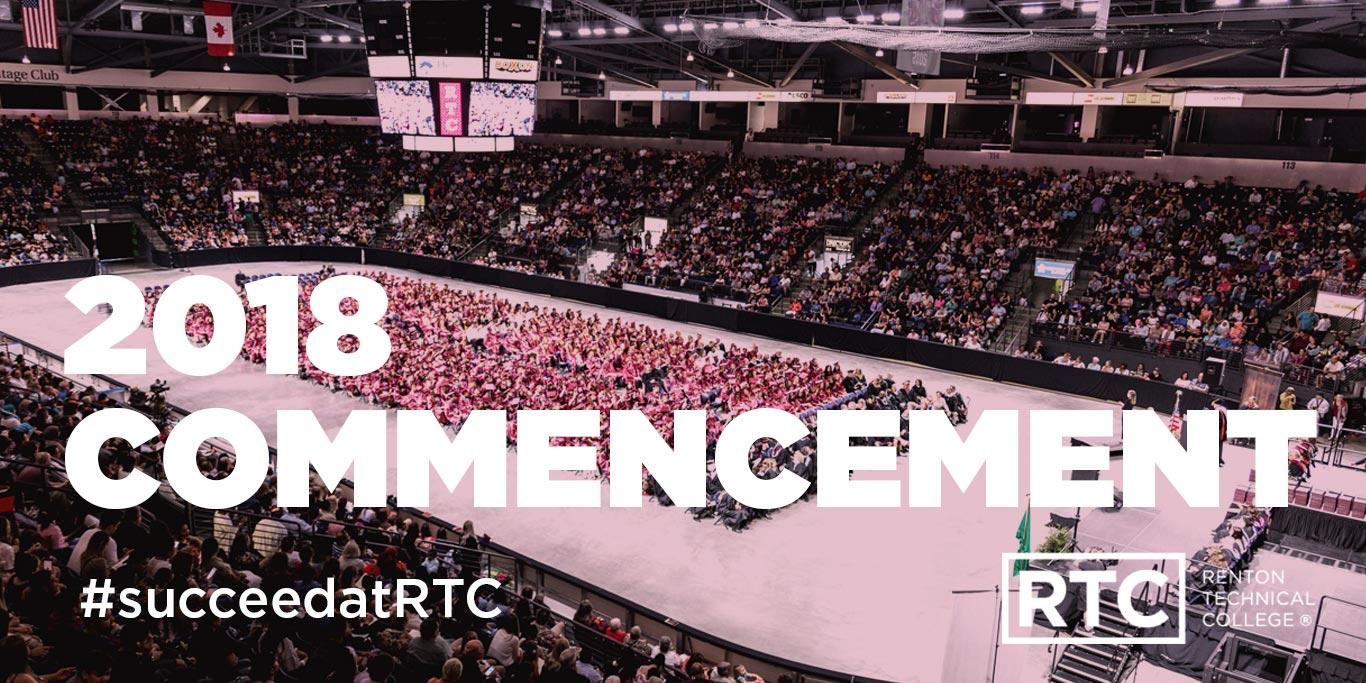 2018 commencement; #succeedatRTC