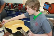 Band Instrument Repair with Guitar Technology