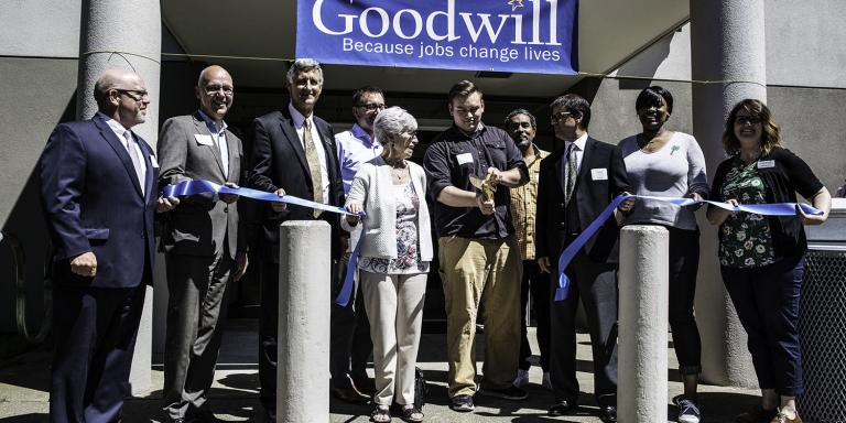 RTC and Goodwill commemorate their partnership