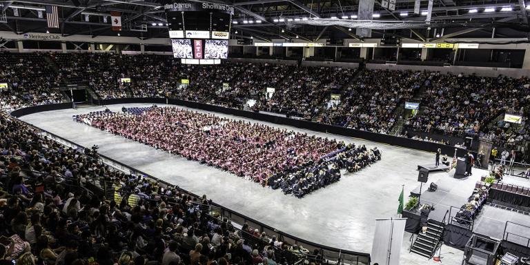 RTC commencement ceremony at Showare Center